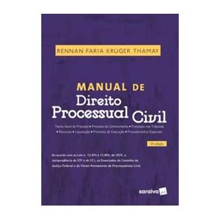 Livro - Manual De Direito Processual Civil - 3ª Edição 2020 - Thamay 3º edição