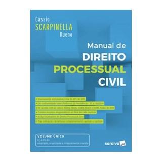 Livro - Manual de Direito Processual Civil - 6ª Ed. 2020 - Bueno 6º edição