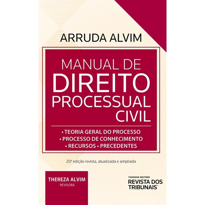 Livro - Manual De Direito Processual Civil - Alvim