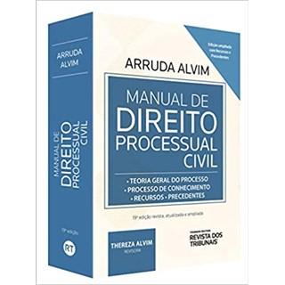 Livro - Manual de Direito Processual Civil - Alvim - Revista dos Tribunais