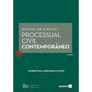 Livro Manual de Direito Processual Civil Contemporâneo - Pinho - Saraiva