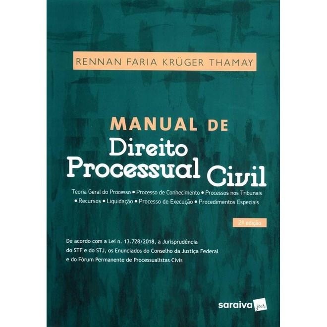 Livro - Manual de Direito Processual Civil - Thamay