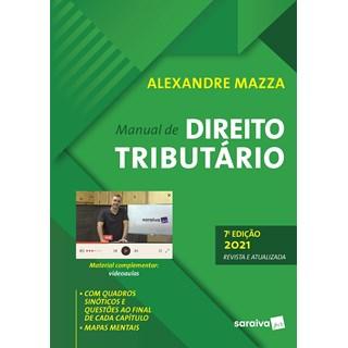 Livro Manual de Direito Tributário - 7ª edição - Mazza - Saraiva