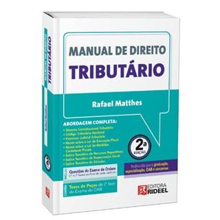 Livro - Manual de Direito Tributário - Matthes - Pré Venda