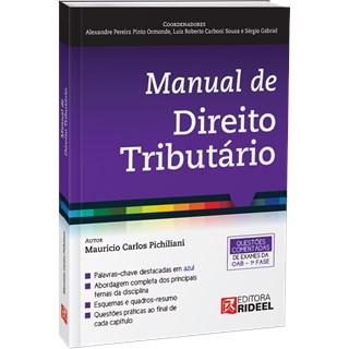 Livro - Manual de Direito Tributário - Pichiliani