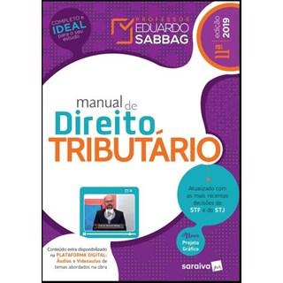 Livro - Manual De Direito Tributário - Sabbag