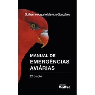 Livro - Manual de Emergências Aviárias - Marietto