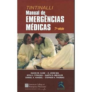 Livro - Manual de Emergências Médicas Tintinalli - Cline