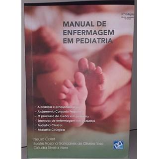 Livro Manual de Enfermagem em Pediatria - Collet - Ab Editora