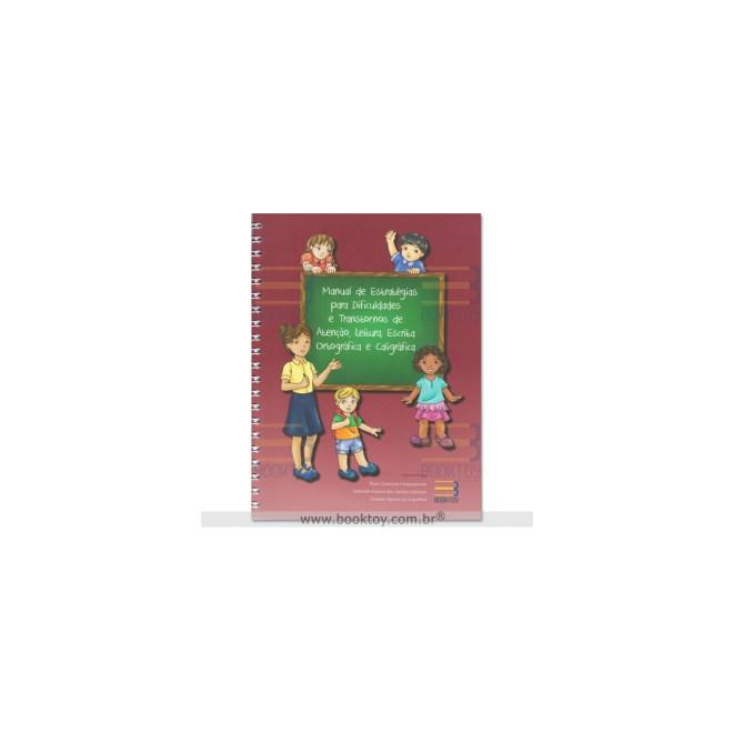 Livro - Manual de Estratégias para Dificuldades e Transtornos de Atenção - Chiaramonte