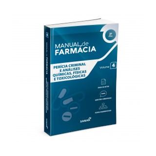 Livro - Manual de Farmácia - Perícia Criminal e Análises Químicas - Sanar