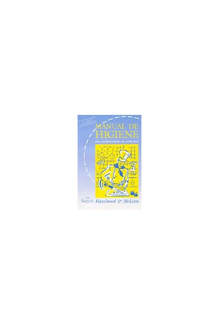 Livro - Manual de Higiene - Para Manipuladores de Alimentos - McLean