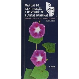 Livro Manual de Identificação e Controle de Plantas Daninhas - Lorenzi - Plantarum
