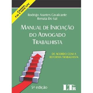 Livro - Manual de Iniciação do Advogado Trabalhista - Cavalcante