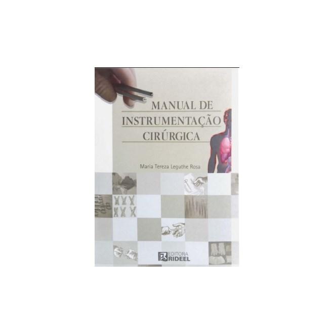 Livro - Manual de Instrumentação Cirúrgica - Rosa
