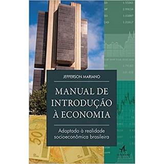 Livro - Manual de Introdução à economomia - Mariano - Alta Books