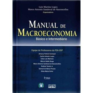 Livro - Manual de Macroeconomia: Básico e Intermediário - Lopes
