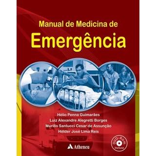 Livro - Manual de Medicina de Emergência - Guimarães