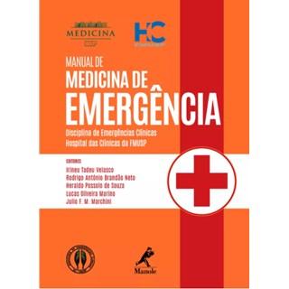 Livro - Manual de Medicina de Emergência - Velasco 1ª edição
