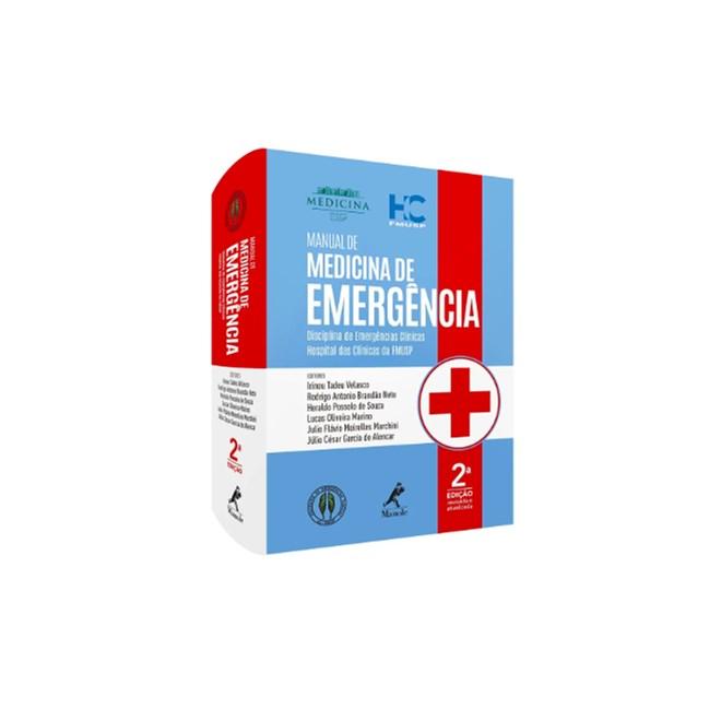 Livro - Manual de Medicina de Emergência - Velasco - HC FMUSP - 2020 - Manole