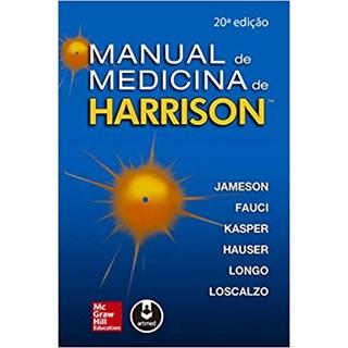 Livro - Manual de Medicina de Harrison - Jameson 20º edição
