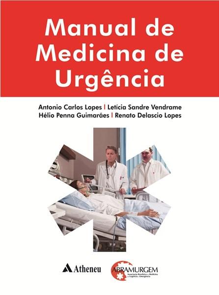 Livro - Manual de Medicina de Urgência - Lopes