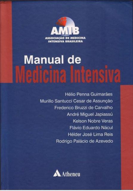 Livro - Manual de Medicina Intensiva - AMIB