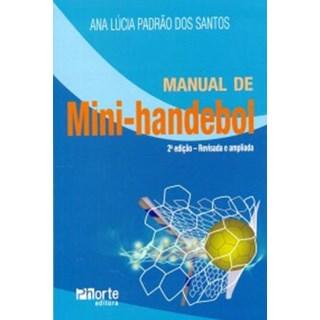 Livro - Manual de Mini-Handebol - Santos