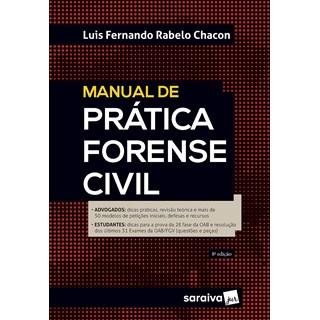 Livro - Manual de Prática Forense Civil - 7ª Ed. 2020 - Chacon 7º edição