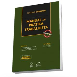 Livro - Manual de Prática Trabalhista - Cisneiros