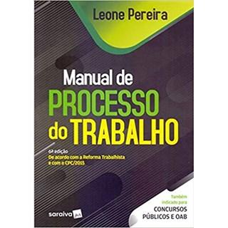 Livro - Manual de Processo do Trabalho - Pereira