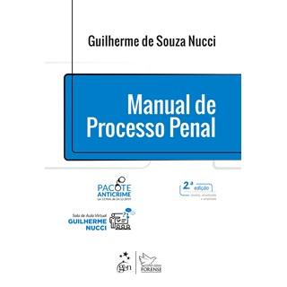 Livro Manual de Processo Penal - Nucci - Forense