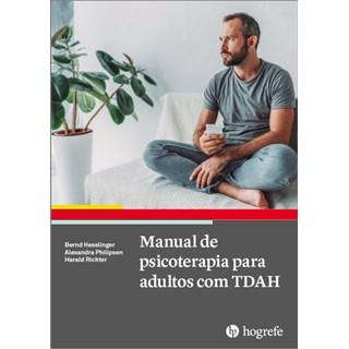 Livro Manual de Psicoterapia Para Adultos com TDAH - Hesslinger - Hogrefe