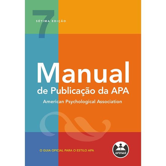 Livro - Manual de Publicação da APA