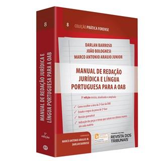 Livro - Manual de Redação Jurídica e Língua Portuguesa para a OAB - Barroso