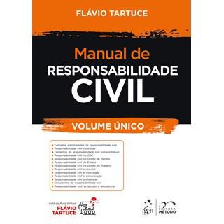 Livro - Manual de Responsabilidade Civil - Pré Venda - Tartuce 1ª edição