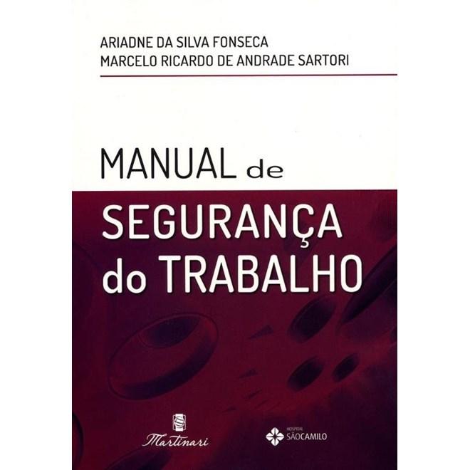 Livro - Manual de Segurança do Trabalho - Fonseca