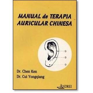 Livro - Manual de Terapia Auricular Chinesa - Ken