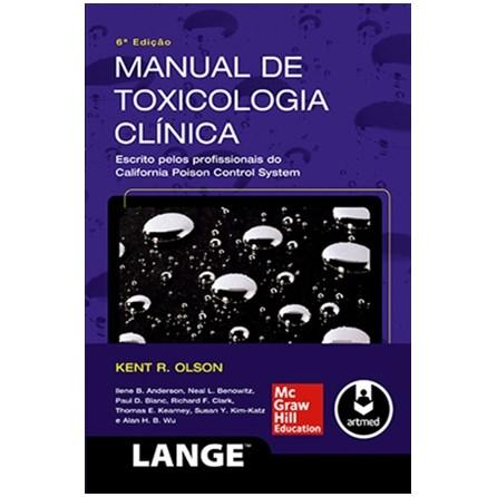 Livro - Manual de Toxicologia Clínica - Olson