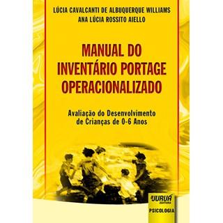 Livro - Manual do Inventário Portage Operacionalizado - Williams - Juruá