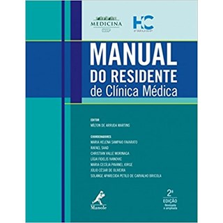 Livro - Manual do Residente de Clínica Médica FMUSP - Martins