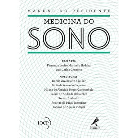 Livro - Manual do Residente - Medicina do Sono - Haddad