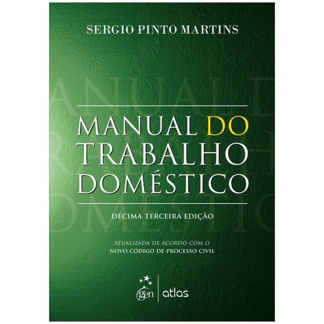 Livro - Manual do Trabalho Doméstico - Martins