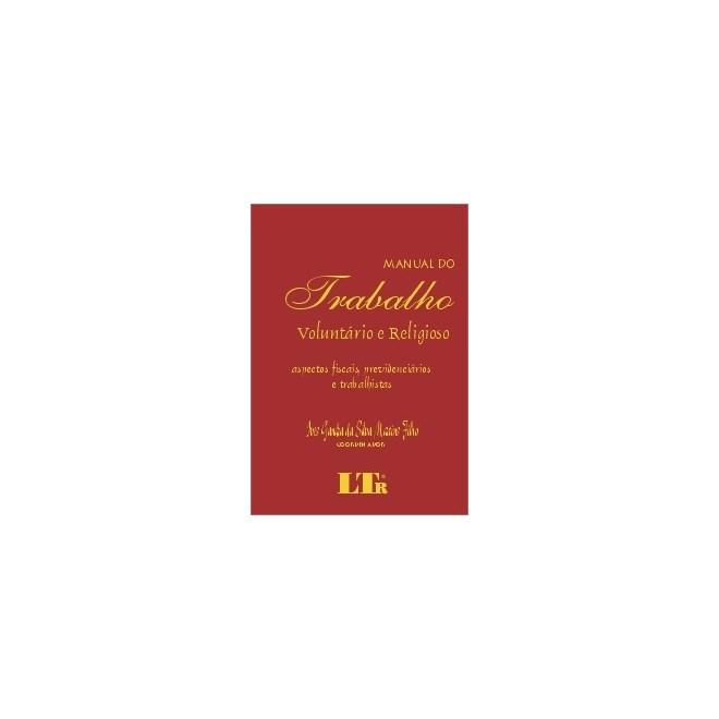 Livro - Manual do Trabalho Voluntário e Religioso - Filho