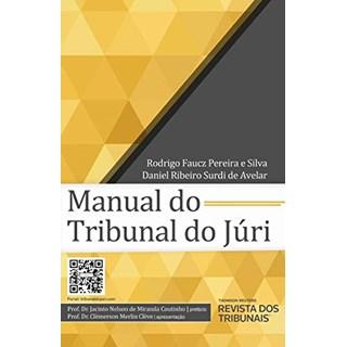 Livro Manual do Tribunal do Júri - Avelar - Revista dos Tribunais - Pré-Venda