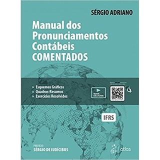 Livro - Manual dos Pronunciamentos Contábeis Comentados -  Adriano