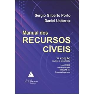 Livro - Manual Dos Recursos Cíveis - Porto
