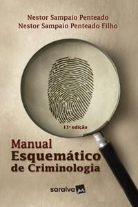 Livro Manual Esquematico De Criminologia Penteado -Saraiva