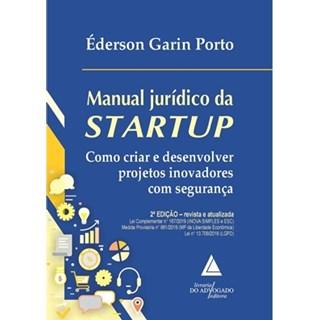 Livro - Manual Jurídico da Startup - Porto
