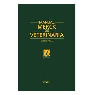 Livro - Manual Merck de Veterinária - Merck